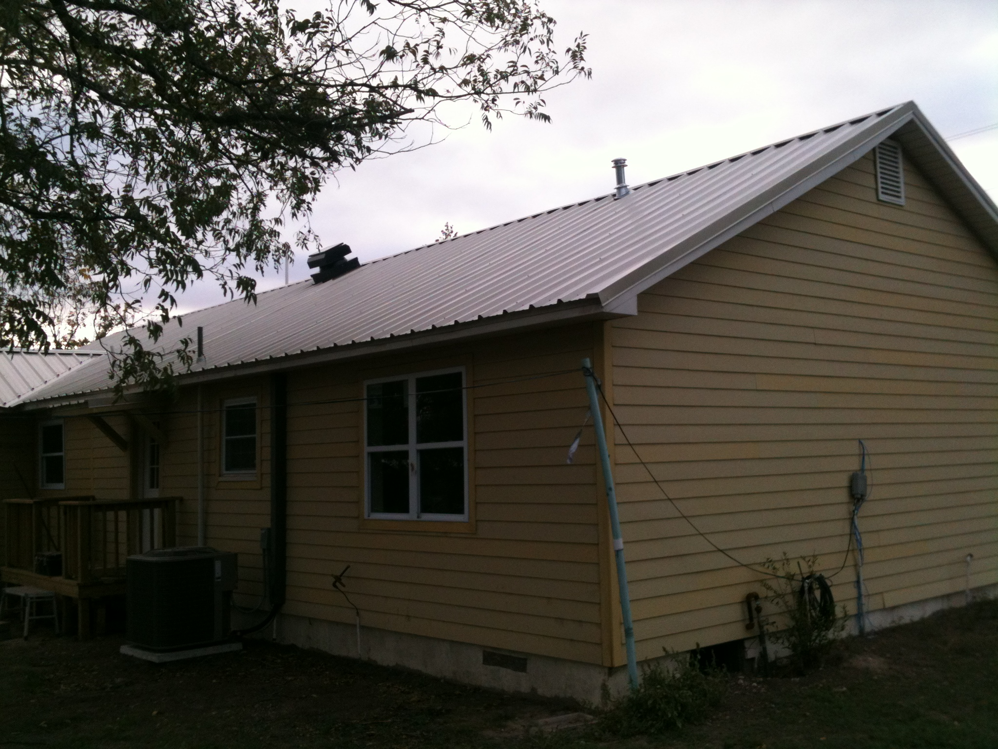 Metal Roof - Central Texas
