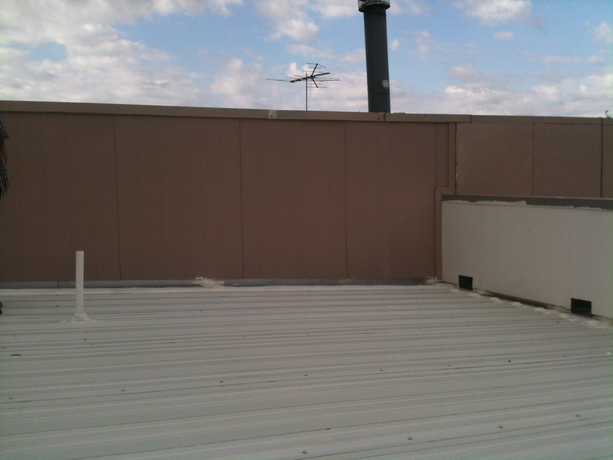 Commercial Metal Roof - Texas Built Roofing