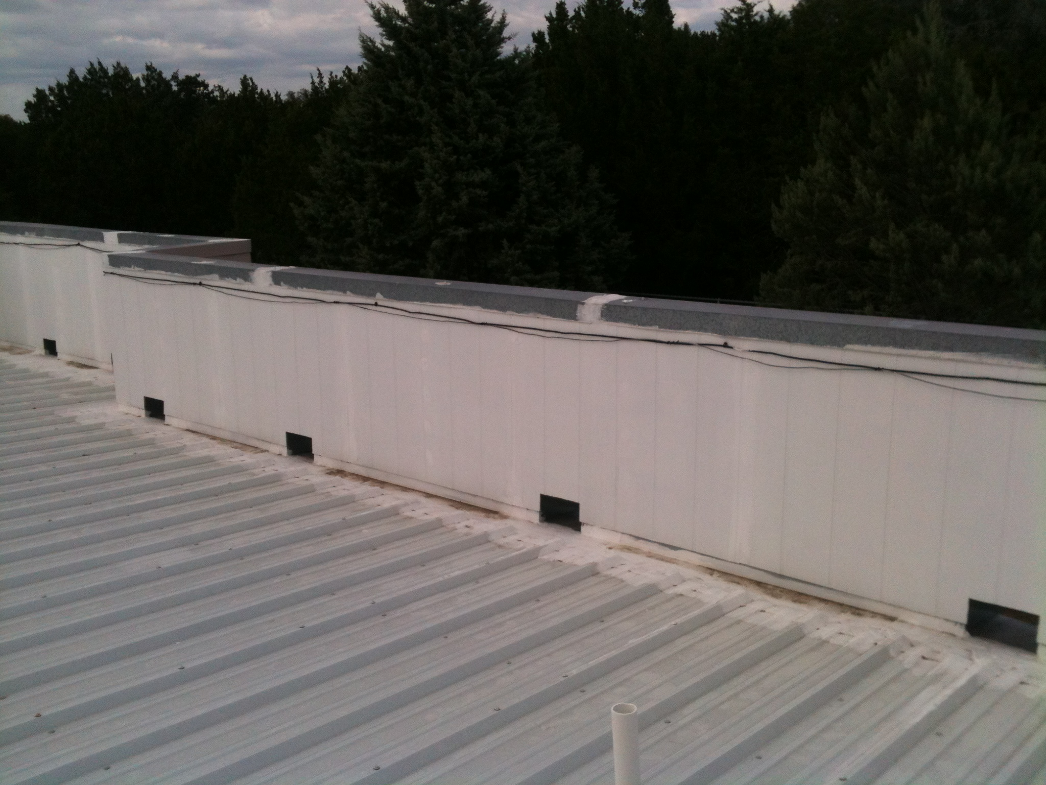 Metal Industrial Roof - Texas Built Roofing