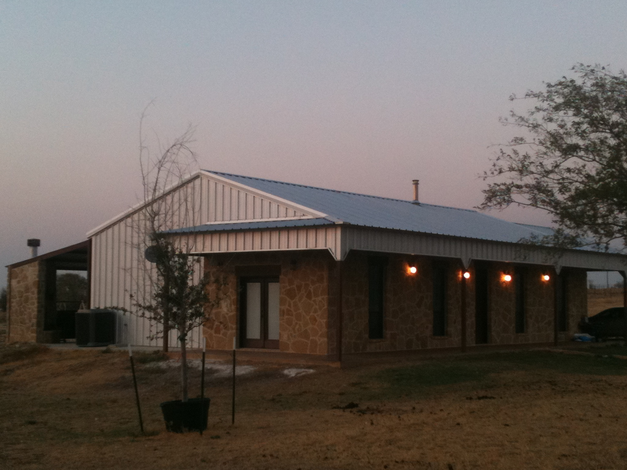 Metal Roof Construction - TX Built Roofing Waco Texas