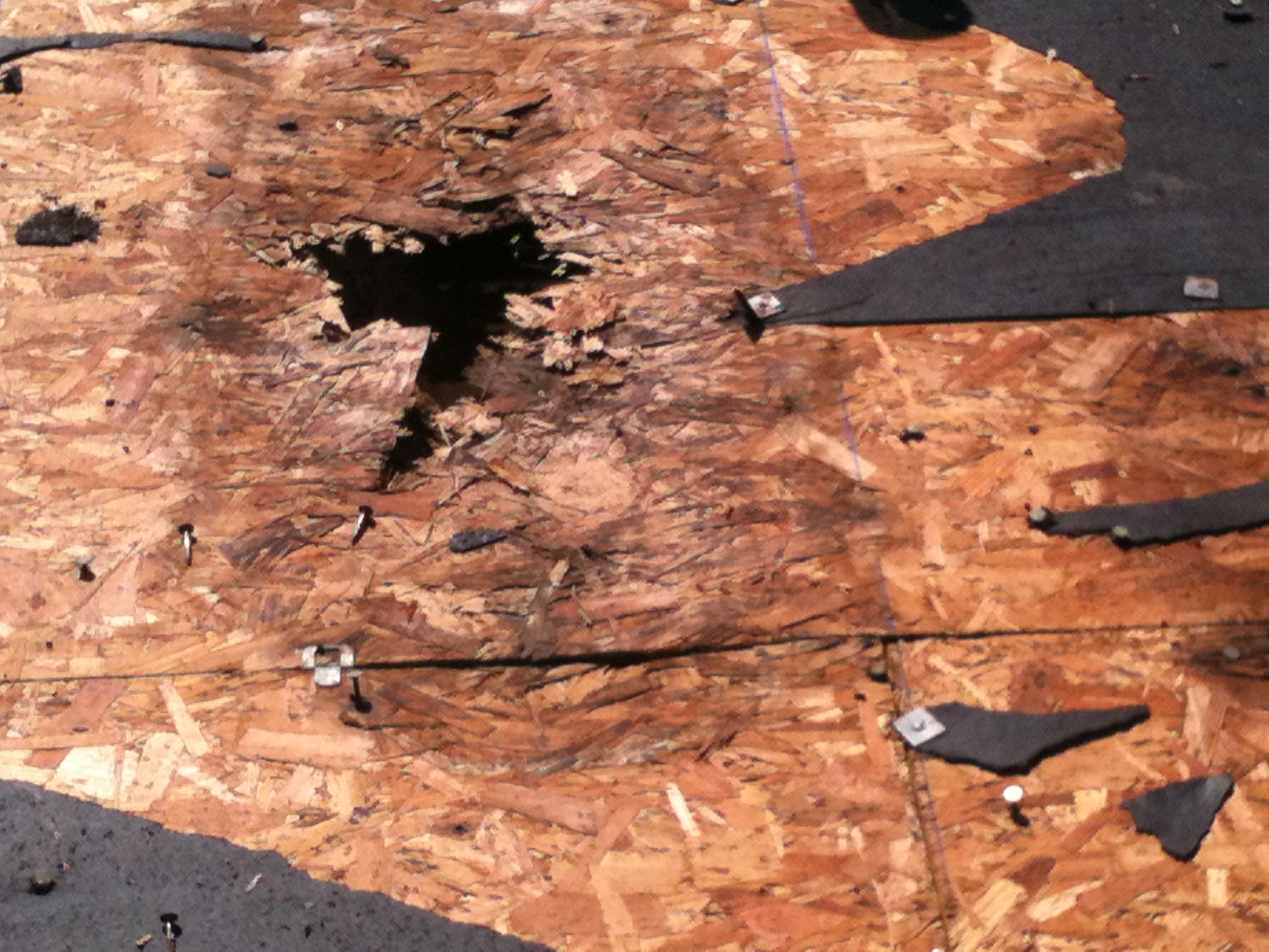 Hole In The Roof Repair - Waco, Texas Roofing