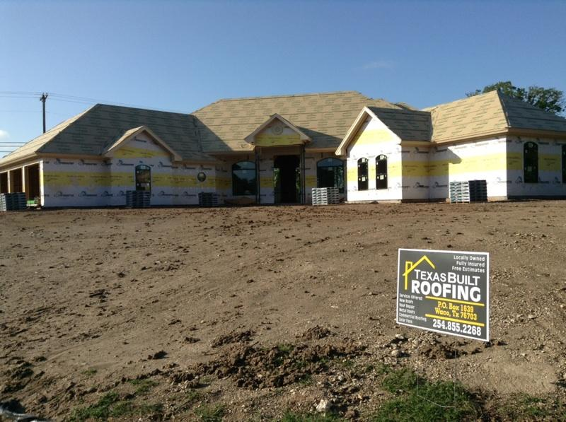 New Construction Roofing Service - Waco, TX Area