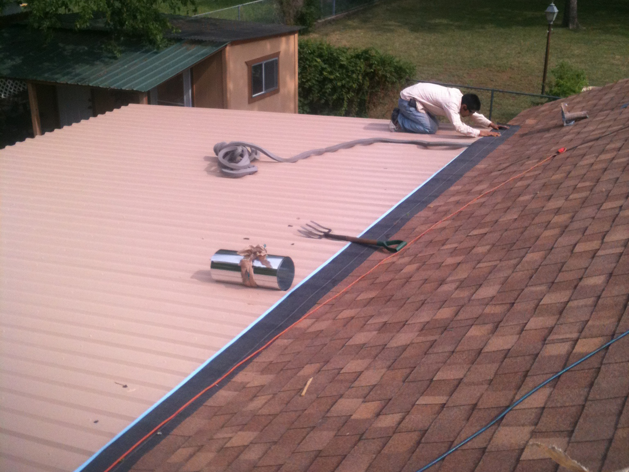 Roof Construction - Texas Built Roofing - Waco, Texas