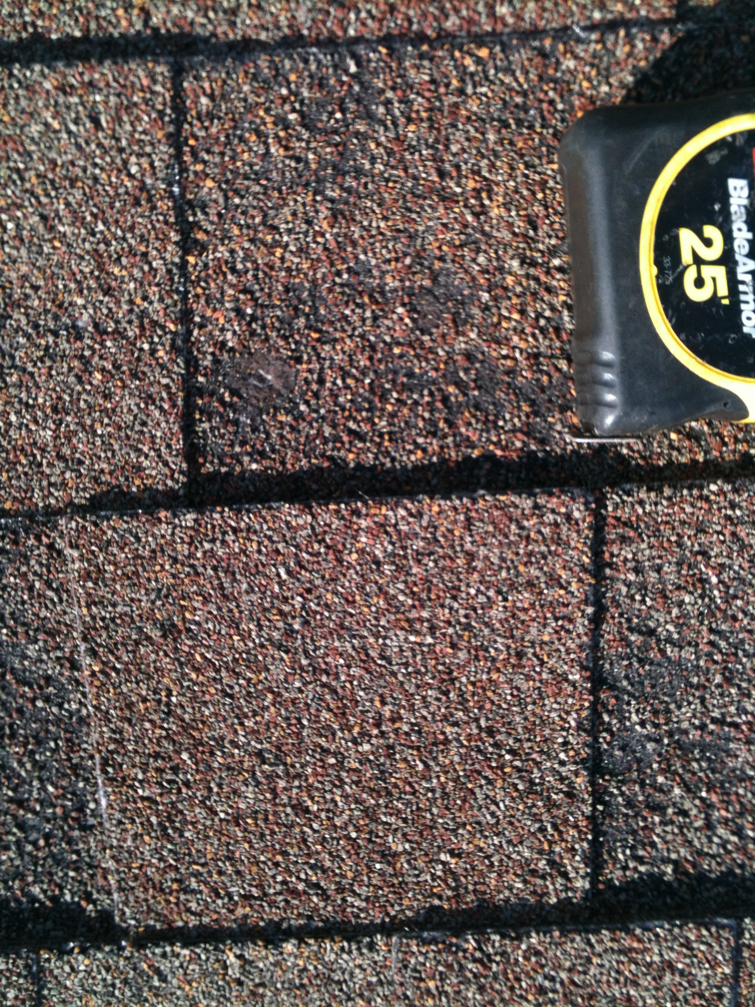 Shingle Hail Damage - Repairs Needed Call Texas Built Roofing Waco