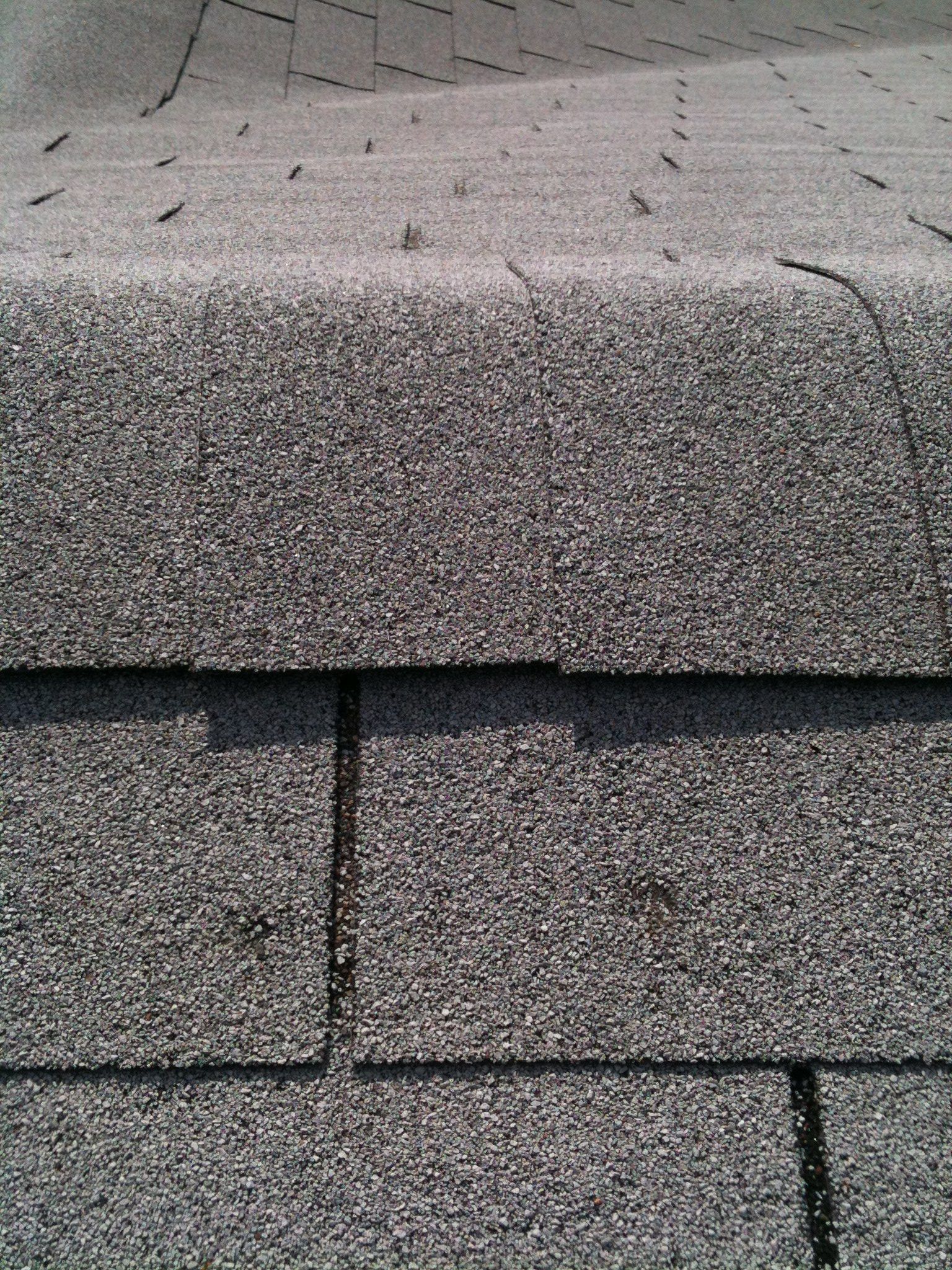 Roof Shingle Hail Damage Waco Roofer