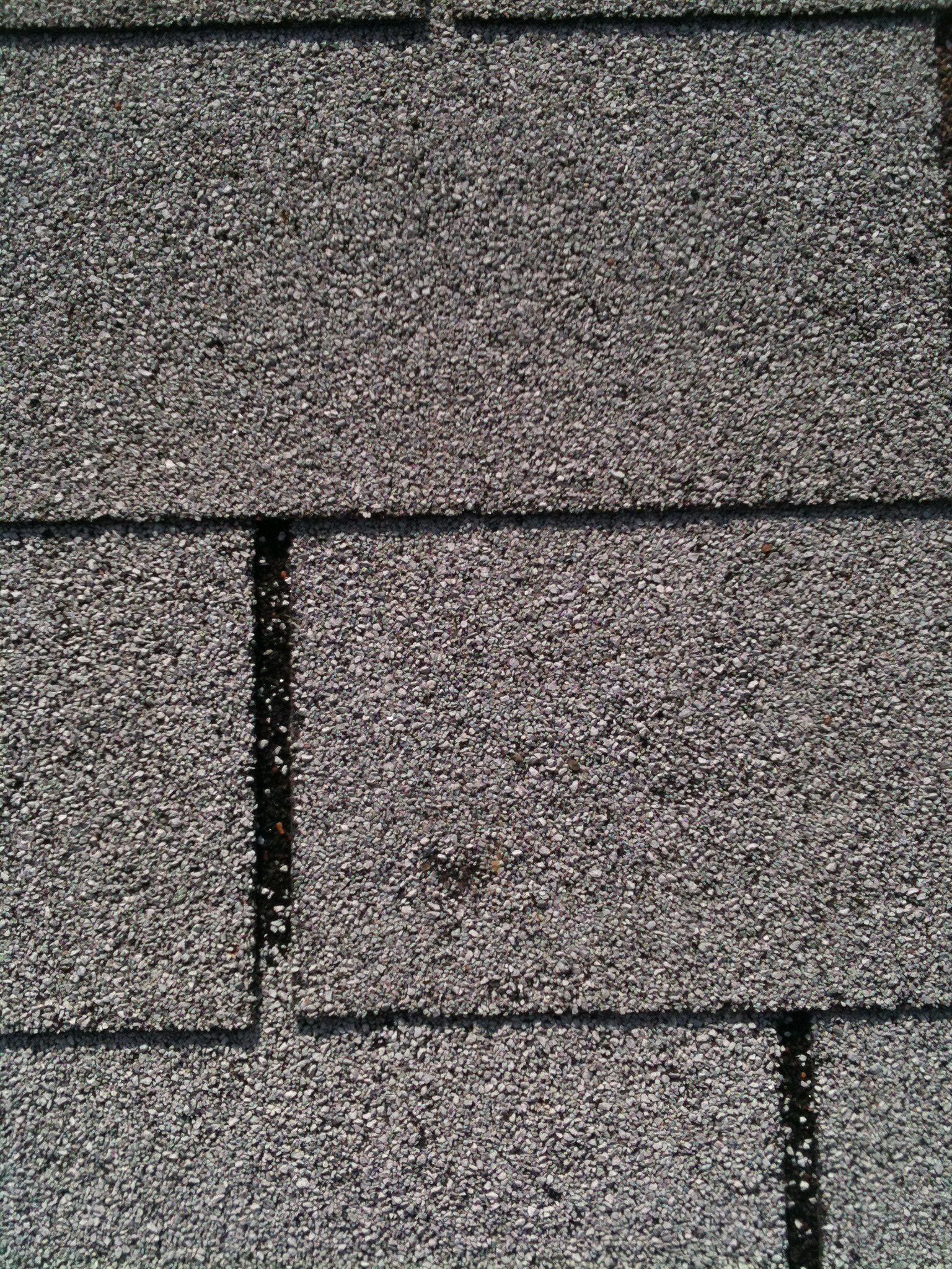 Roof Shingle Hail Damage Example Waco Roofer