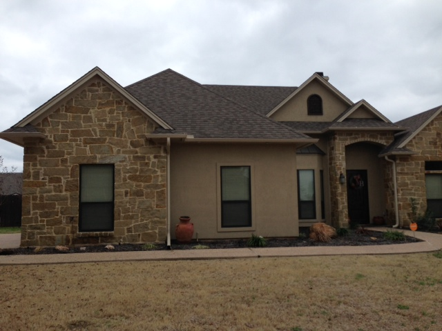 Shingle Roof - New Construction - Waco, Texas