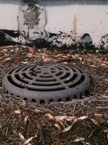 Roof Drain Clean Out & Repair Needed - Waco Roofing