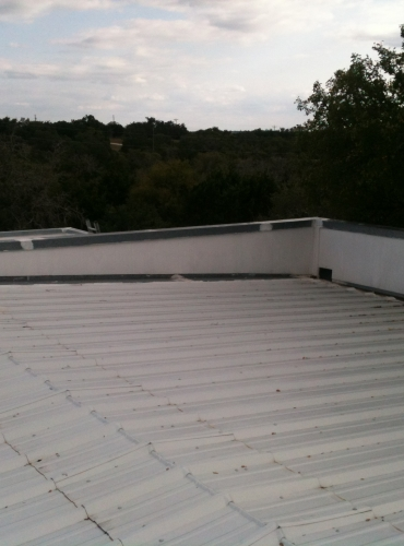 Metal Vaulted Commercial Roof Service