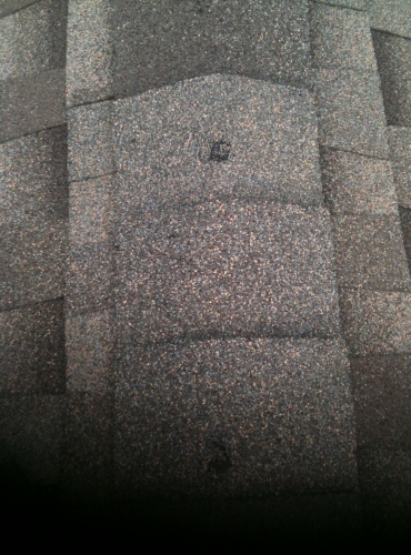 Roof Hail Damage Waco Texas Roofing