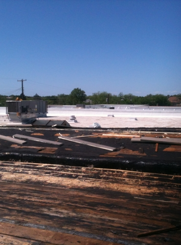 Commercial Roof Construction