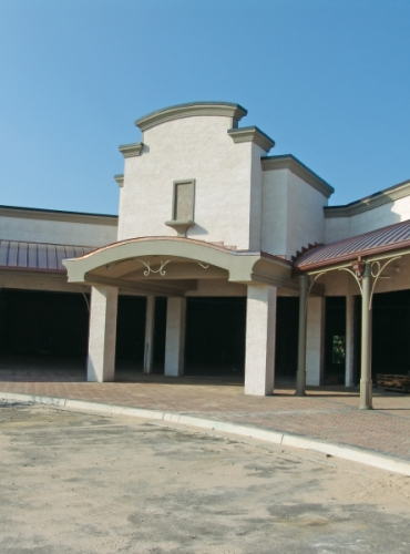Commercial Roofing - Retail Building