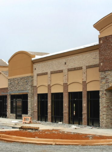 Commerical Roofing - Retail Building - Waco, Texas