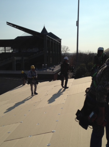Commercial Roofing - McLane Stadium - Baylor, Waco Texas